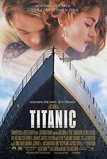 Película Titanic impresión De Lona Arte Cartel estirada icónico de Caprio Nave Star Dvd