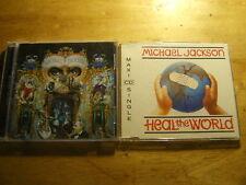 Michael Jackson [2 CD] Dangerous (SpEd) + Heal the World