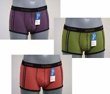 Sloggi men Rainbow Hipster Unterhose Boxer Short violett orange olive NEU