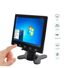 "7""/9"" Inch LCD 800*480 / 1024*600 HD Monitor AV/RCA/VGA/HDMI w/Speaker + Adapter"