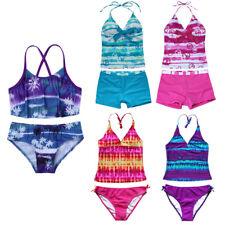 Kids Girls' Bikini Swimwear Tankini Swimsuit Swimmers Bathers Bathing Beachwear