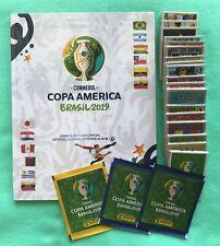 PANINI COPA AMERICA 2019 2016 2015 2011 COMPLETE SET ALBUM BRAZIL