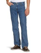 Mens Lee Ranger durable straight fit jeans 'Blue' FACTORY SECONDS LA12
