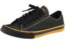 Harley Davidson Men's Roarke Black/Orange Sneakers Shoes