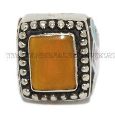 Amber Ring Lapis Ring Tribal Ring Turquoise Ring Coral Ring Silver Ring Tribal