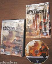 Videogioco pc dvd delta force black hawk down ubisoft 2006 in italiano fx vendo