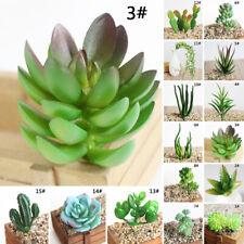 Artificial Succulent Flower Floral Plastic Plant Fake Aloe Home Garden Room Xmas
