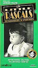 The Little Rascals - V. 14 (VHS, 1997) Remastered & Unedited LEONARD MALTIN old