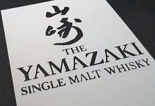 Lo stile Yamazaki Single Malt Whisky LOGO Bere Grandi Medium Aerografo Stencil