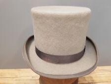 MENS Formal Grey Wilson & Stafford Top Hat - 100% Pure Wool