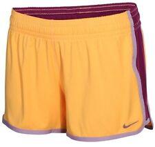 NWT Nike Womens DRI-FIT 3.5 Fly Knit Training Shorts Size S M Organe 698689