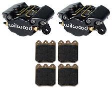 WILWOOD DYNAPRO SINGLE BRAKE CALIPERS,PADS,.38,1.75,3.25,SPRINT CAR,MIDGET,MICRO