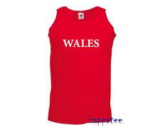 WALES Vest - FOTL Athletic Welsh Vest Cooler than a T Shirt