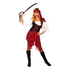 Adult HIGH SEAS PIRATE Fancy Dress Ladies Costume Shipwrecked UK Sizes 6-28