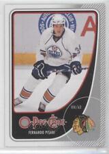 2010-11 O-Pee-Chee #17 Fernando Pisani Chicago Blackhawks Edmonton Oilers Card