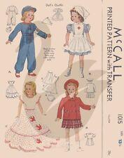 Reproduction vintage Shirley Temple poupées vêtements couture motif M1015