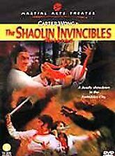 The Shaolin Invincibles (DVD, 2001, Martial Arts Theater)