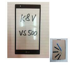 USA Stock Outer Front Screen Glass Replacement lens For LG K8 V / VS500 K8V tool
