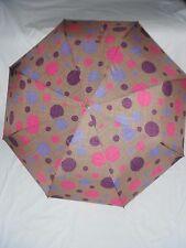 Shelta Compact Folding Rain Sun Umbrella - 3789 Large Multi Dot Auto Open/Close