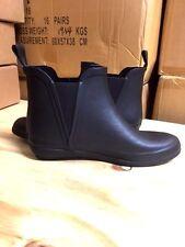 Brand New Women Black Ankle Rain Boots Twin V gore Waterproof Size 6-10