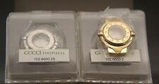 NIB Gucci Replacement Case Set - 6600 L - Silver and Gold Tone