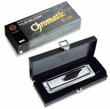 C.A.Seydel Söhne Mundharmonika Chromatic De Luxe -SOLO-