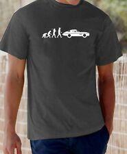 Evolution of Man, '65 Corvette Stingray classic car t-shirt