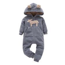 Infant Kid Warm Long Sleeve Cartoon Animal Rompers 6-24M Baby Clothing Bodysuit