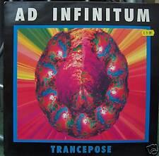 "AD INFINITUM ~ Trancepose ~ 12"" Single PS"