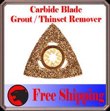 Carbide Grout Rasp Oscillating Multi Tool Blades Disc For Dremel Bosch Craftsman