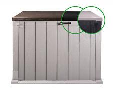 Mülltonnenbox Geräteschuppen Storer Plus 842 Liter Gartenschuppen abschließbar