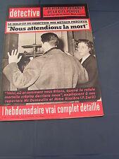 Détective 1963 863 LUSIGNY SUR BARSE BEAUGENCY SAINT JORY DE CHALAIS CHALEIX