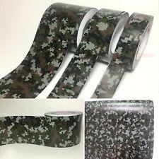 Camouflage Camo Decors DIY Tape House Car Digital Black Vinyl Wrap Sticker - AB