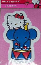 Hello kitty Sticker 3D Groß ca. 25 x 17,5  cm Neu und OVP siehe auch Foto