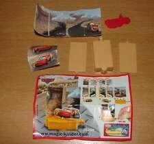 KINDER 2S-209 DISNEY CARS SPIELZEUG FLASH LIGHTNING McQUEEN + BPZ + STICKERS
