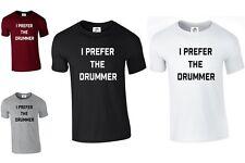 Prefiero el baterista T Shirt Banda Tumblr Moda 1d 1975 Ashton (baterista, Camiseta)