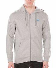 c9d191fc221ee Men s New Adidas Originals Zip Hoodie Hoody Hooded Sweatshirt Jumper Jacket