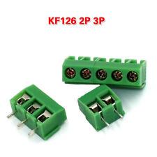 5mm PCB Screw Splicable Terminal Block Connector 2/3 Pole MG/KF/GZ-126 250V 8A