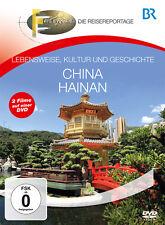 DVD Sur de china y Hainan BR Fernweh la Viaje con Recomendaciones expertos