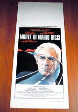 LA MORTE DI MARIO RICCI locandina poster Gian Maria Volontè La mort de 1983 AM33