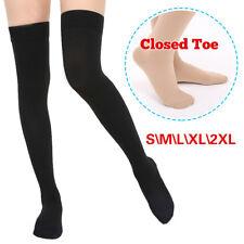 Compression Stockings Men Women,Thigh Leg Socks Medical Travel Nursing Edema DVT