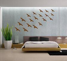 14 X volando Pájaros Pegatinas de Pared Niños Guardería Niños Habitación calcomanías Reino Unido 927