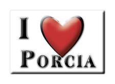 CALAMITA FRIULI VENEZIA GIULIA FRIDGE MAGNET MAGNETE SOUVENIR LOVE PORCIA (PN)