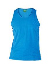 New Mens Duke D555 Big Kingsize Cotton Muscle Vest Sleeveless Basic T-shirt Top