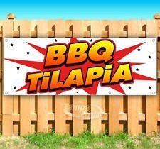 New listing Bbq Tilapia Advertising Vinyl Banner Flag Sign Many Sizes Usa