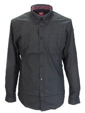 Merc Albin Black Cotton Long Sleeved Retro Mod Button Down Shirts …