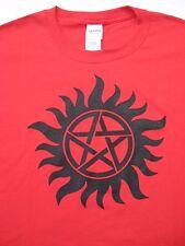 ANTI DEAMON POSESSION T-Shirt, Symbol from T.V show SUPERNATURAL W/ Sam & Dean