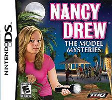 Nancy Drew: The Model Mysteries (Nintendo DS, 2010)-- Cartridge only