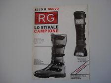 advertising Pubblicità 1976 STIVALE RG