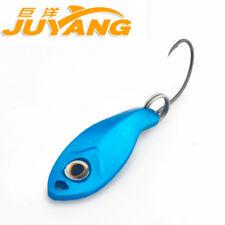 JUYANG Leaf 0.5g Metal Spinner Spoon Fishing Lure Hard Baits With Single Hook